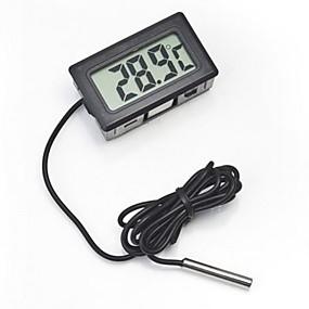 povoljno Dom i vrt-digitalni ugrađeni termometar lcd instant read hladnjak praćenje akvarija zaslon s vodonepropusnim detektorom