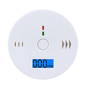 Недорогие Сенсоры-co999 детекторы дыма и газа в помещении co датчик газа звуковая сигнализация датчики безопасности жк-экран
