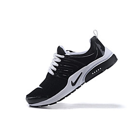 brand new 49f85 5d2ef NIKE Women s Elastic Fabric Spring   Summer Athletic Shoes Flat Heel Black    White