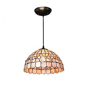 abordables Lampe Tiffany-CXYlight bol Lampe suspendue Lumière dirigée vers le bas Autres Métal Coquille Style mini 110-120V / 220-240V Ampoule non incluse / E26 / E27