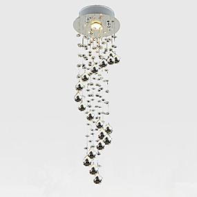 tanie Mocowanie przysufitowe-LightMyself™ Kryształ Lampy widzące Downlight Chrom Kryształ Kryształ, Styl MIni 110-120V / 220-240V Zawiera żarówkę / GU10