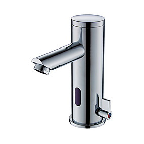 billige tappekran Sets-Kransett - Sensor / Nytt Design galvanisert Frittstående Handsfree Et HullBath Taps