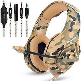 voordelige Gaming-LITBest K1B Gaming Headset Bekabeld Gaming met microfoon
