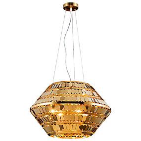billige Hengelamper-ZHISHU 4-Light geometriske / Originale Anheng Lys Omgivelseslys galvanisert Metall Mini Stil, Kreativ 110-120V / 220-240V