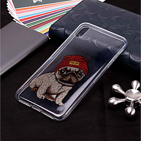 povoljno Telefoni i pribor-Θήκη Za Apple iPhone XS / iPhone XR / iPhone XS Max Uzorak / Šljokice Stražnja maska Pas Mekano TPU