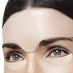 abordables Aparatos para el Baño-Reutilizable anti arrugas frente ojo cara almohadilla silicona anti microgroove pegatina de cuidado de la piel parche de gel de sílice arruga
