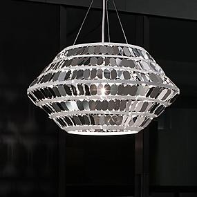 abordables Plafonniers-ZHISHU 6 lumières Géométrique / Nouveauté Lampe suspendue Lumière d'ambiance Plaqué Métal Style mini, Créatif 110-120V / 220-240V