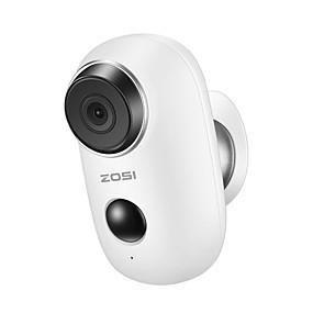 billige Innendørs IP Nettverkskameraer-ZOSI 1NC-2811MW-W 1 mp IP-kamera Innendørs Brukerstøtte 128 GB