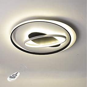 tanie Mocowanie przysufitowe-Nowość Lampy sufitowe Światło rozproszone Malowane wykończenia Metal Wiele tonów, Ochrona oczu, Przygaszanie 110-120V / 220-240V Biały / Przyciemnianie pilotem / Ciepła biel + biały