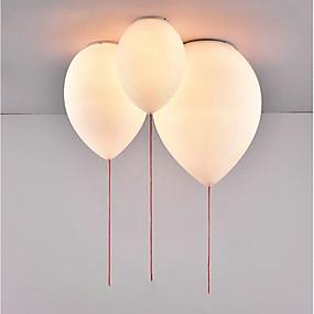 voordelige Plafondverlichting & Ventilatoren-Globe Plafond Lampen Neerwaartse Belichting Metaal Glas Creatief, Nieuw Design 110-120V / 220-240V