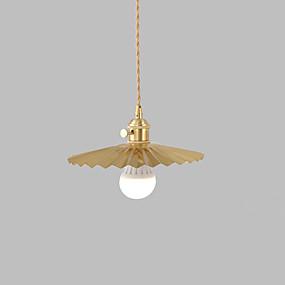 abordables Plafonniers-JSGYlights Mini Lampe suspendue Lumière dirigée vers le bas Laiton Cuivre Style mini, Design nouveau 110-120V / 220-240V