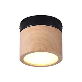 halpa Kattovalaisimet ja tuulettimet-JSGYlights Upotettavat valaisimet Puu Puu / bambu Akryyli Minityyli, Uusi malli 85-265V