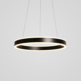 ieftine Cumpără după Cameră-2-Light Circular Lumini pandantiv Lumină Spot Pictate finisaje Metal Acrilic LED 110-120V / 220-240V Alb Cald / Alb Sursa de lumină LED inclusă / LED Integrat