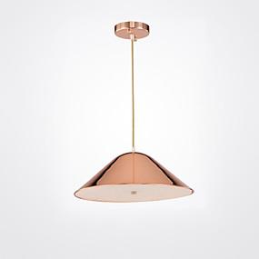 billige Hengelamper-CONTRACTED LED® 3-Light Sputnik / Cone / geometriske Anheng Lys Omgivelseslys Malte Finishes Aluminum Matt, Kreativ, Nytt Design 110-120V / 220-240V Pære ikke Inkludert