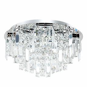 halpa Kattovalaisimet ja tuulettimet-3-Light Kristalli Upotettavat valaisimet Alavalot Galvanoitu Metalli Kristalli 110-120V / 220-240V