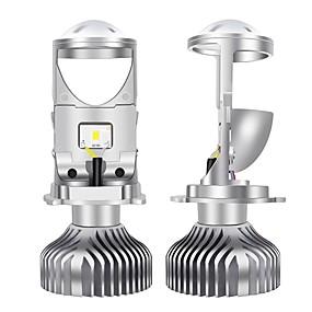 abordables 70%OFF-SO.K 2pcs H4 Coche Bombillas 30 W COB 10000 lm 2 LED Luz de Casco Para Todos los Años