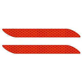 voordelige Autobumper decoratie-2 stks auto bumpers / deurgrepen / deur kom gemeenschappelijke cool / pasta type / nieuwe ontwerp voor auto bumpers / autodeur / onder de autoruit voor universele universele