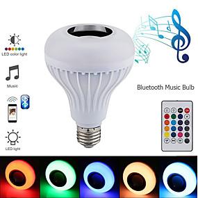 billige LED-kabinetlamper-1 sæt led scenen lys bluetooth magisk bold e27 pære fjernbetjening baggrundsbelysning musik lys dj bar ballroom dekoration lys