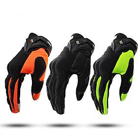 povoljno 30%OFF-pun prst unisex rukavice za motocikle vlakna ne klizanje / prozračna / lagana
