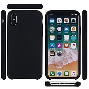 Χαμηλού Κόστους Δωρεάν Αποστολή-tok Για Apple iPhone XS Max Ανθεκτική σε πτώσεις / Προστασία από τη σκόνη Πίσω Κάλυμμα Μονόχρωμο Μαλακή Silica Gel για iPhone XS Max