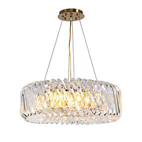 cheap Crystal Lights-8-Light Pendant Light Ambient Light Painted Finishes Crystal 110-120V / 220-240V
