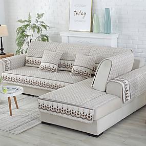 billige Varm salg-Sofatrekk / Sofa Pute Moderne Kviltet Bomull slipcovere