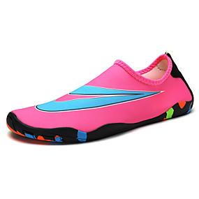 baratos Sapatos Esportivos Masculinos-Homens Sapatos Confortáveis Com Transparência Primavera Verão / Outono & inverno Tênis Água Vermelho / Rosa claro / Azul Real