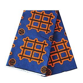 ราคาถูก Crafts&Sewing-ฝ้าย ลายเรขาคณิต Pattern 112 cm ความกว้าง ผ้า สำหรับ เสื้อเชิ้ต ขาย โดย 6Yard
