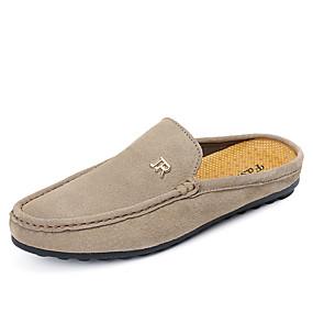 1a27f9fe1 رخيصةأون أحذية الرجال-رجالي مقسين PU الصيف قباقيب والحفاية برتقالي / أزرق /  كاكي