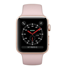 cheap Brand Salon-Apple Apple Watch Series 3 GPS Smartwatch iOS Refurbished Bluetooth Waterproof Touch Screen GPS Heart Rate Monitor Calories Burned Timer Stopwatch Pedometer Call Reminder Activity Tracker