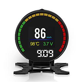tanie Wyświetlacze samochodowe-hud car head up display silniki projektory cyfrowe instrument prędkościomierz p15