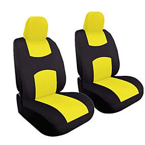 povoljno Novi dolasci u srpnju-4pcs / set univerzalni auto jastuk prednjeg sjedala pokriti glavu jastuk poklopac prozračna tkanina sjedište pokriti jastuk set