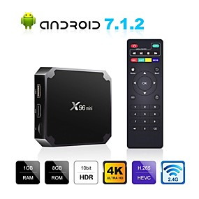 povoljno Besplatna dostava-X96 mini TV Box Android7.1.1 TV Box Amlogic S905W 1GB RAM 8GB ROM Quad Core
