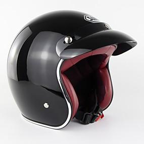 abordables Nouvelles arrivées en août-casque de moto rétro moto vintage casque scooter casque de moto s-xxl soman sm512