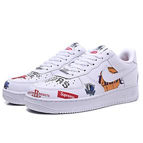 baratos Tênis Masculino-Homens Sapatos Confortáveis Sintéticos Primavera Verão Clássico Tênis Caminhada Arco-íris / Atlético