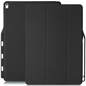 voordelige Ipad Hoes-hoesje Voor Apple iPad Pro 12.9 '' Stofbestendig / Flip / Origami Volledig hoesje Effen Hard PU-nahka voor iPad Pro 12.9''