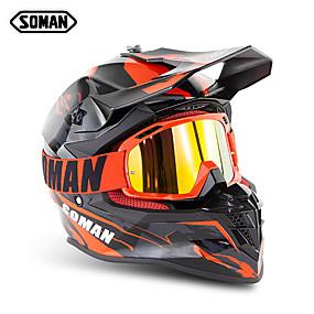 billige 90%OFF-soman merke motocross hjelmer sm633 motorsykkel sm15 beskyttelsesbriller
