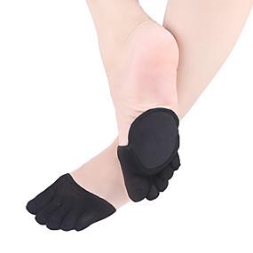 billige Sokker-1 par Dame Sokker Ensfarget Leg Shaping Enkel Stil Bomullsblanding EU36-EU42