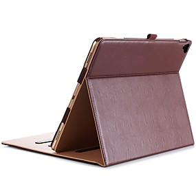 voordelige Ipad Hoes-hoesje Voor Apple iPad Pro 12.9 '' Schokbestendig / Stofbestendig / Auto Slapen / Ontwaken Volledig hoesje Effen Hard PU-nahka voor iPad Pro 12.9''