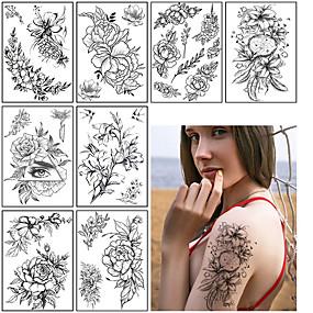 voordelige tattoo stickers-3 pcs Tijdelijke tatoeages Waterbestendig / Beste kwaliteit schouder / Torso Tatoeagestickers