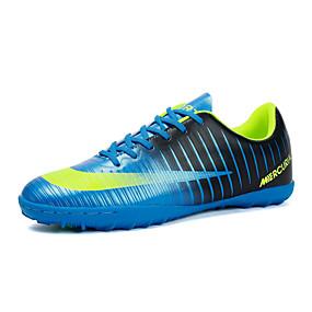 baratos Chuteiras de Futebol-Homens Solas Claras Tecido elástico Outono Esportivo Tênis Futebol Azul Real / Prateado