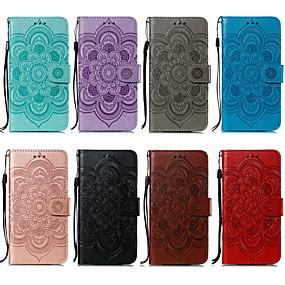 povoljno Novo u ponudi-Θήκη Za Apple iPhone 8 Plus / iPhone XS Max Novčanik / Utor za kartice / Otporno na trešnju Korice Jednobojni Mekano PU koža za iPhone XS / iPhone XR / iPhone XS Max