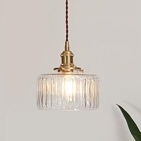 billige Hengelamper-Originale Skyllmonteringslys Omgivelseslys galvanisert Glass Glass Justerbar 110-120V / 220-240V