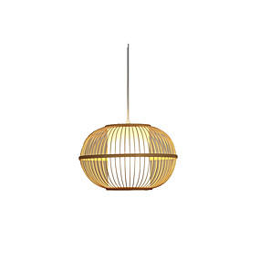 billige Hengelamper-Lanterne Anheng Lys Omgivelseslys Tre Tre / Bambus Tre / Bambus 110-120V / 220-240V