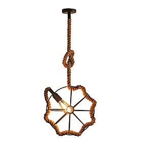 abordables Plafonniers-Mini Lampe suspendue Lumière d'ambiance Finitions Peintes Métal Créatif 110-120V / 220-240V
