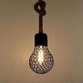 abordables Plafonniers-Lampe suspendue Lumière d'ambiance Finitions Peintes Métal Créatif 110-120V / 220-240V
