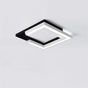 billige Nyheter-CONTRACTED LED® Lineær / geometriske Skyllmonteringslys Nedlys Malte Finishes Metall LED, Nytt Design 110-120V / 220-240V Varm Hvit / Hvit