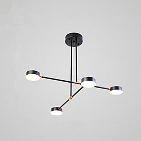 billige Nyheter-4-Light Originale Lysekroner Omgivelseslys Malte Finishes Metall 110-120V / 220-240V Varm Hvit / Hvit