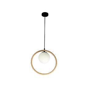 billige Hengelamper-sirkel pendellampe hampetau omgivende fjæringslamper malt finish pendelbelysning for kjøkkenøy