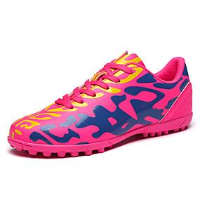 baratos Sapatos Esportivos Femininos-Mulheres Tênis Sem Salto Ponta Redonda Couro Ecológico Esportivo Futebol Primavera Verão Verde / Branco / Fúcsia